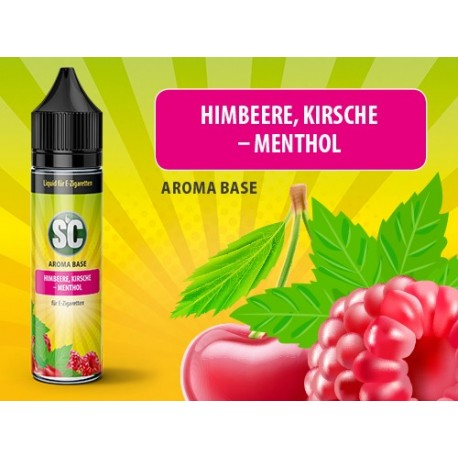 SC Shortfill Liquid Himbeere,Kirsche und Menthol